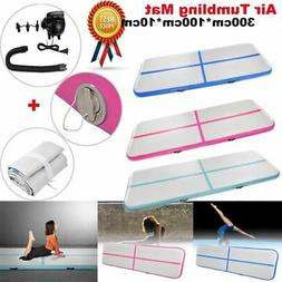 10 FT Air Track Floor Home Inflatable Gymnastics Tumbling Ma