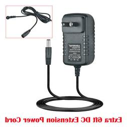 10ft 6V 2A AC/DC Adapter for Gold's Gym 400Ri Power Supply H
