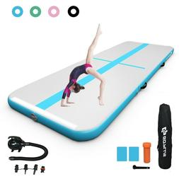 13 Feet Air Track Inflatable Gymnastics Tumbling Mat with Pu