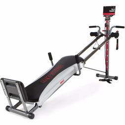 Total Gym 1400 Deluxe Home Fitness With Workout DVD Muscle E