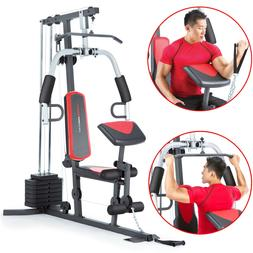 Weider 2980 Home Gym With 214 Lbs. Of Resistance Red/Black E
