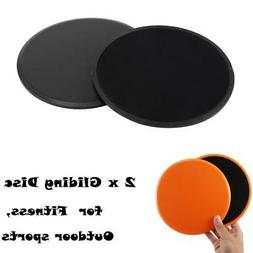 2x Portable Exercise Gliding Disc Slider Home Gym Fitness Yo