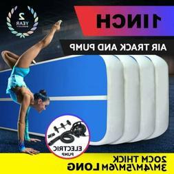 3.3FT X 13FT Inflatable Air Track Floor Home Gymnastics Tumb