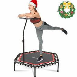 "50"" Trampoline Fitness Exercise Fitness Gym Rebounder Cardio"
