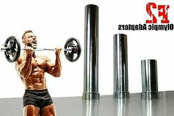 """7"""" Olympic Sleeve & Resistance Band Barbell Adapters For 1"""""""