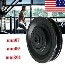 70/90/105mm Home Gym Strength Training Pulley w/Bearings Fit