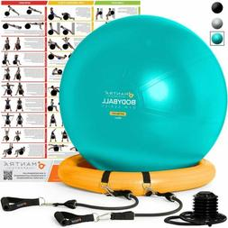 Exercise Ball Chair - 65cm & 75cm Yoga Fitness Pilates Ball