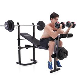 Weight Bench Barbell Lifting Press Gym Equipment Exercise  A