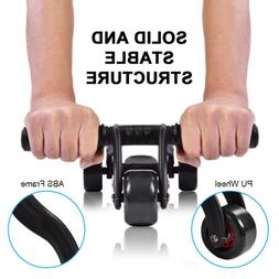 Ab Roller Wheel ABS Exerciser Abdominal Workout Home Gym Fit