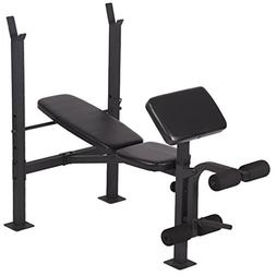 BestMassage Adjustable Weight Bench Workout Bench for Full B