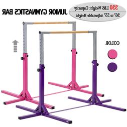 Adjustable Gymnastics Bar Horizontal Training Bar Junior Hom