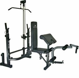 At Home Gym Equipment System Workout Weights Machine Bench E