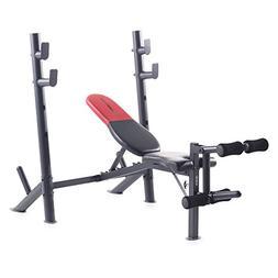 Weider 15964 Pro 345 B Mid Width Bench Press w/ Adjust Angle