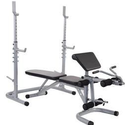 BalanceFrom Multifunctional Workout Station Adjustable Olymp