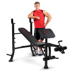 Marcy Standard Bench, Black/Black , OS