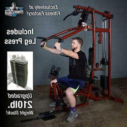 Body-Solid EXM1 Home Gym Multi Station Gym w/ Leg Press and
