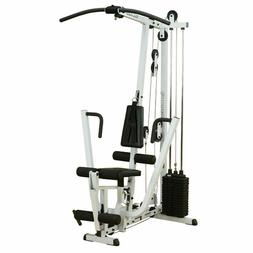 Body-Solid EXM1500S, Single Weight Stack Home Gym Cable Mach