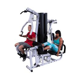 Body-Solid EXM3000LPS 2 Stack Commercial Multi Gym with Leg