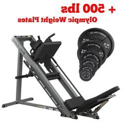 Body-Solid GLPH1100 Hack Squat & Leg Press Machine +500lbs O