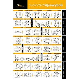 Bodyweight Exercise Poster - Total Body Workout - Personal T