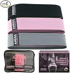 Arena Strength Booty Bands: Fabric Resistance Bands for Legs