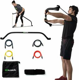 Gorilla Bow Home Gym Resistance Training Kit - Full Body Wor