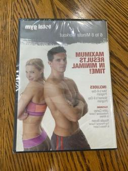 Brand New Sealed Total Gym 6 to 8 Minute Workout DVD XLS par