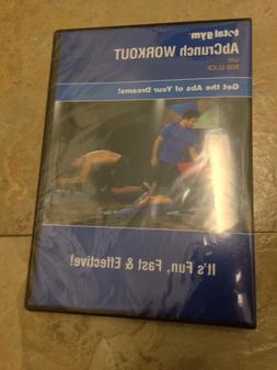Brand New Sealed Total Gym ABCRUNCH DVD Set bars wheels Ab C