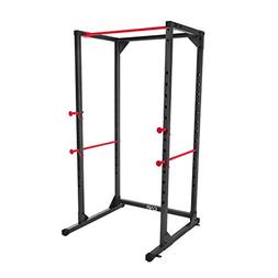 Full Cage Power Rack Barbell Squat Fitness CAP