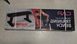 CAP Premium Sturdy Home Gym Workout Excersise Flat Weight Pa