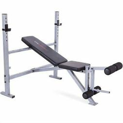 CAP Strength Mid-Width Weight Bench exercise lifting barbell