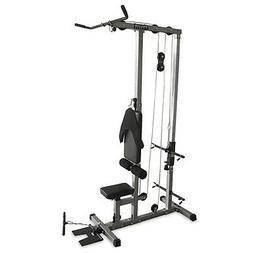 Valor Fitness CB-12 Plate Loading Lat Pull Down Machine with
