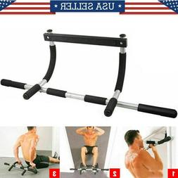 Chin Pull Up Bar Exercise Heavy Duty Doorway Fitness Multi F