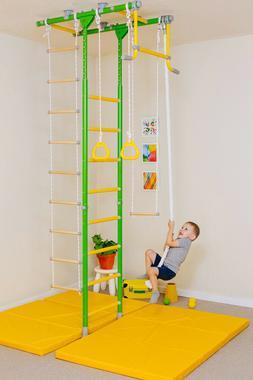 Comet 1 - Kids Indoor Gym - Home Playground Set - Swedish Wa