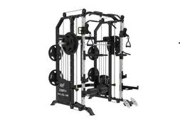 Commercial Home Gym Smith Machine w Attached Weight of 200 K
