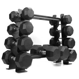 Compact Heavy Duty Dumbbell Storage Rack For Home Gym Holds