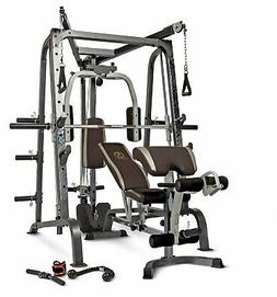 Marcy Deluxe Diamond Elite Smith Cage Workout Machine Total