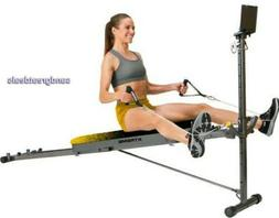Deluxe Home Gym System with 5 Workout Stations