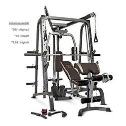 Marcy Deluxe Diamond Elite Smith Cage Workout Machine Total