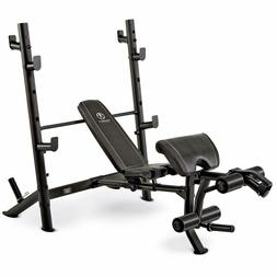 Marcy Olympic Mid-Size Workout Weight Bench Strength Trainin