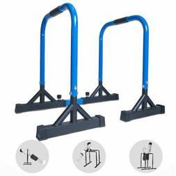 Dip Station Power Tower Bar Self Standing Bar Workout Home G