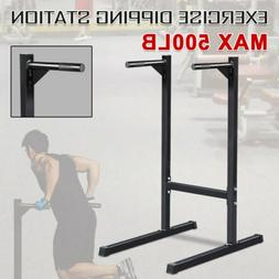 Dipping station Dip Stand Pull Push Up Bar Fitness Exercise