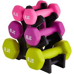 Dumbbells Weight Set 20 Pounds Free Weights Home Gym Fitness