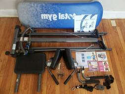 Total Gym Elite Home Gym With Accessories