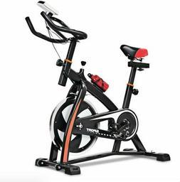 Exercise Bicycle Indoor Bike Cycling Cardio Adjustable Gym W
