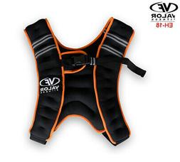 Valor Fitness Exercise Equipment 18lb Weight Vest