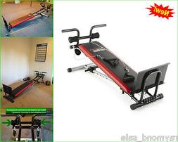 Weider Exercise Fitness Adjustable Rowing Machine Bench Ulti