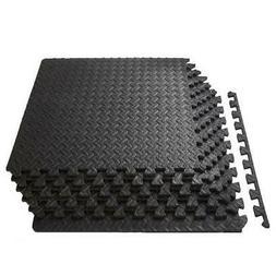 Exercise Gym Floor Mat Flooring Fitness Home Foam Tiles Puzz