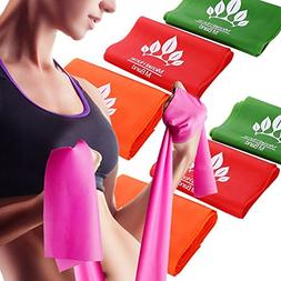 Micrael Home Sports Exercise Resistance Band Set of 3 Long F