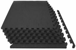 ProsourceFit Extra Thick Puzzle Exercise Mat 3/4 or 1 Inch,